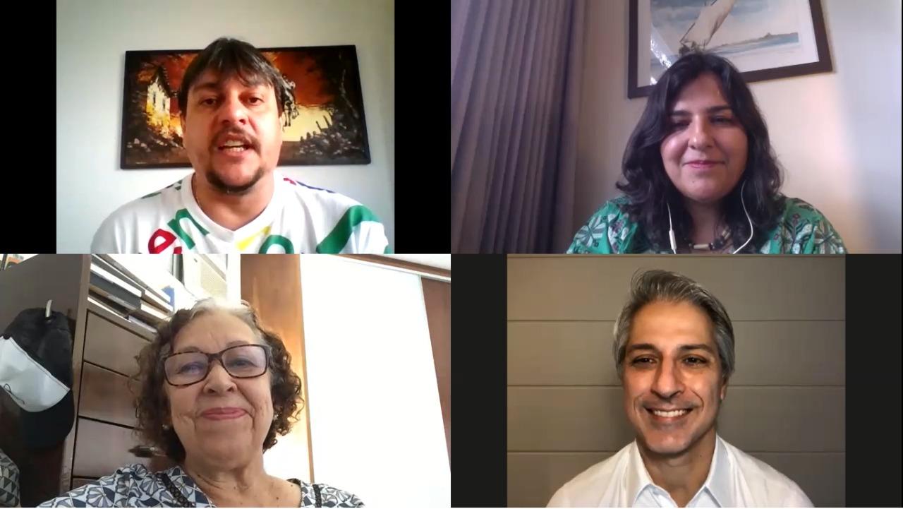 Alessandro Molon e Lídice da Mata debatem o problema das fake news no cenário político brasileiro